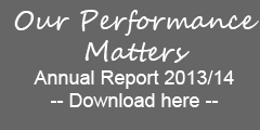 Our performance matters annual report 2013/14