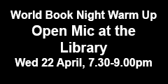 Open Mic at the Library - 22 April