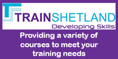 Train Shetland training courses