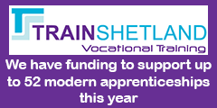 Train Shetland modern apprentices