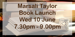 Marsali Taylor book launch