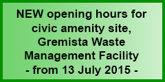 Civic amenity site opening hours