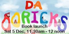 Da Ooricks book launch at Shetland Library