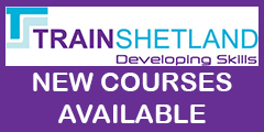 Train Shetland new courses