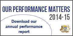 Our performance matters annual report 2014/15
