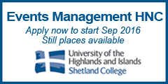 Apply now places still available as Shetland College