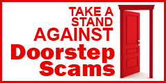Take a stand against doorstep scams