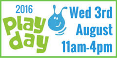 National Playday 2016 Wednesday 3rd august 2016