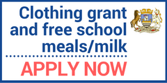 Clothing Grant and free school meals & milk