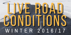 Live road conditions winter