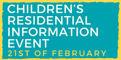 Children residential info event