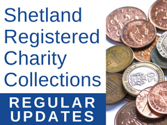 Shetland Registered Charity Collections