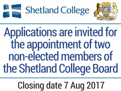 Shetland College Board members