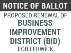 Ballot Business Improvement Lerwick
