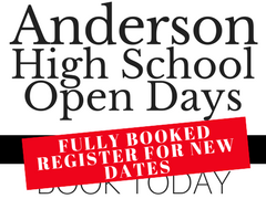 New AHS open days