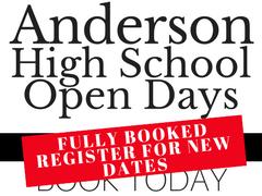 New AHS open days