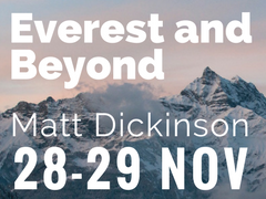 Matt Dick inson Everest
