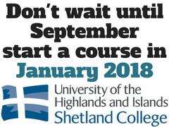 Shet College January 2018