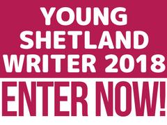 Young Shetland Writer 2018