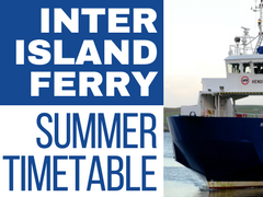 ferry summer timetable 18